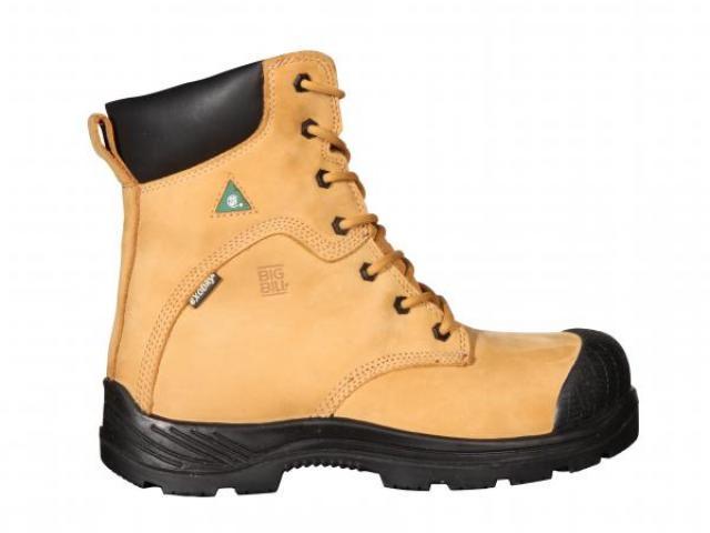 """BB6510 Metal Free Boots 8"""" - Tan"""